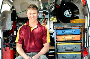 Karl has all the tools in his truck and he can tackle any type of plumbign in Kingsgate, WA