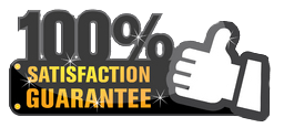 we proud to provide 100% satisfaction guarantee services